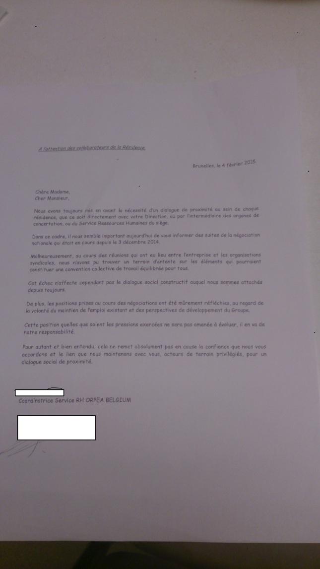 lettre direction fév15