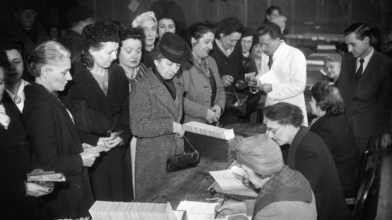droit de vote, femme
