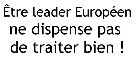 leader europeen