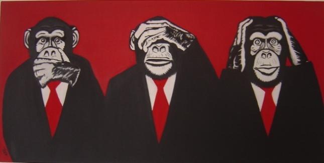 3 singes et leur sagesse