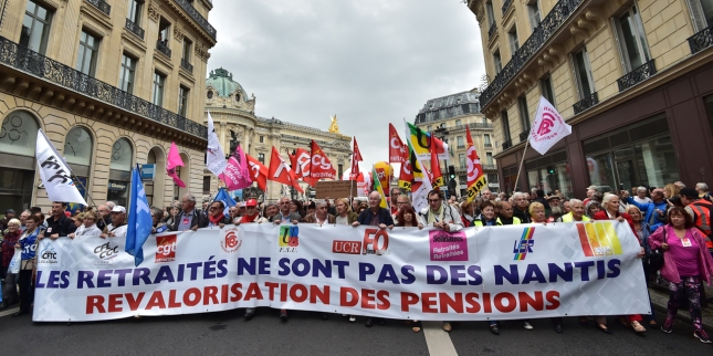 FRANCE-SOCIAL-PENSION-GOVERNMENT-UNIONS-DEMO